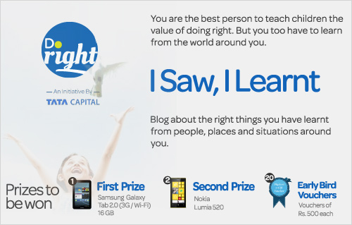 doright-bloggers-contest-blogadda