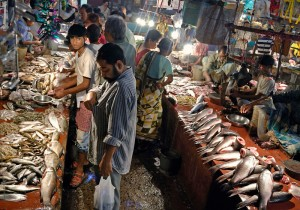 Fish Market. Image Courtesy: Sujoy Das