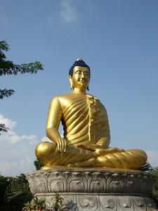 Lumbini Buddha. Image Courtesy: Google