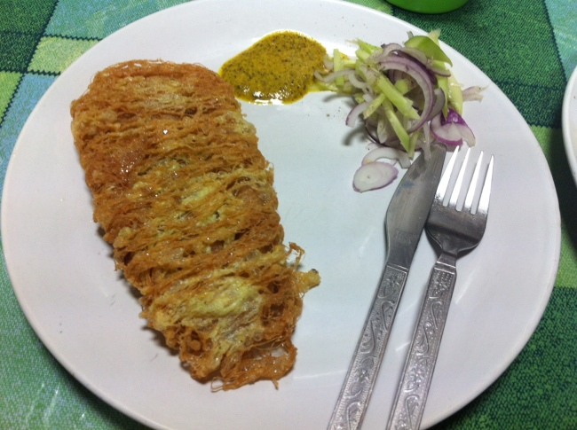 Chicken Kabiraji Cutlet at Mitra Cafe, Golpark