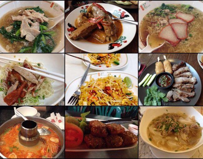 Eat all Thai :)