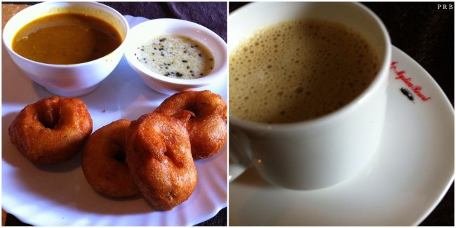 Medu Vada and Coffee
