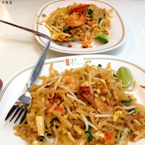 Prawn Pad Thai at Ploenchit Centre Food Court