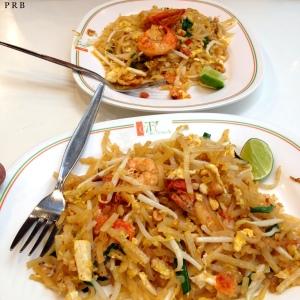Prawn Pad Thai at Ploenchit Centre Food Court