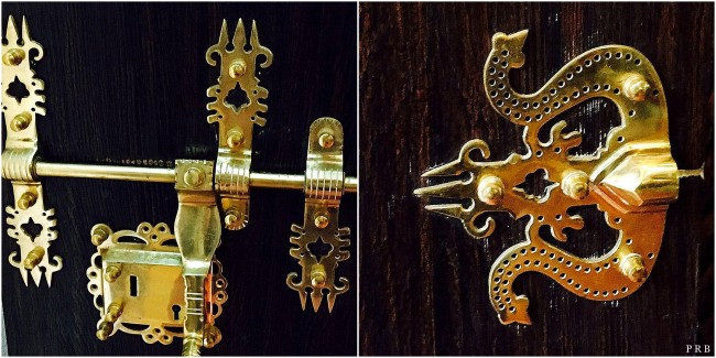 Brass locks from Kerala