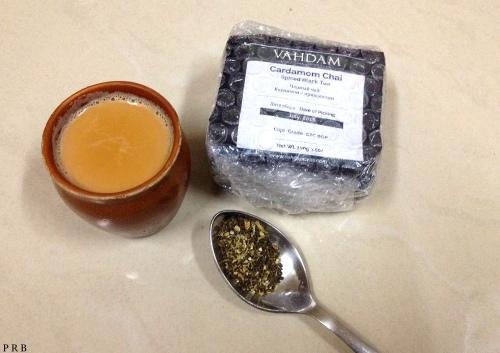 Cardamom spice tea